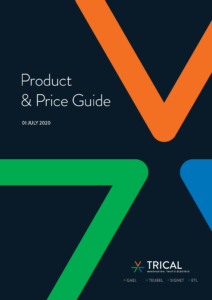Trical Product & Price Guide 2020 Cover